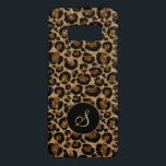 """Trendy leopard pattern with glitters Case-Mate samsung galaxy s8 case<br><div class=""""desc"""">Stylish and chic,  this girly leopard pattern is what we are obsessed for! Customize it with your monogram for a personalized,  stylish look.  If you need help or for special requests,  contact me at my address info@ superanniversary.com (delete the space).</div>"""