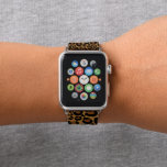 Trendy Leopard Personalized Apple Band