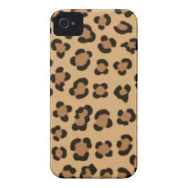 Trendy Leopard Print Design Case-Mate iPhone 4 Case