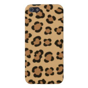 Trendy Leopard Print Design Case For iPhone SE/5/5s