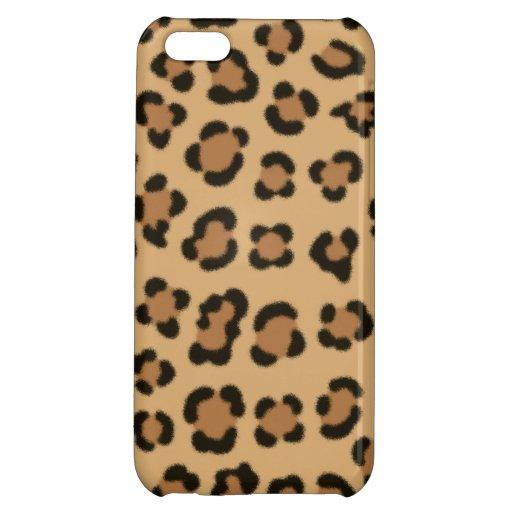 Trendy Leopard Print Design Case For iPhone 5C