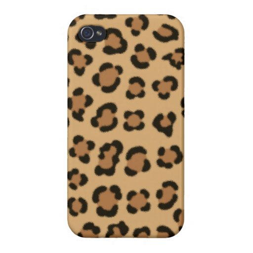 Trendy Leopard Print Design Case For iPhone 4