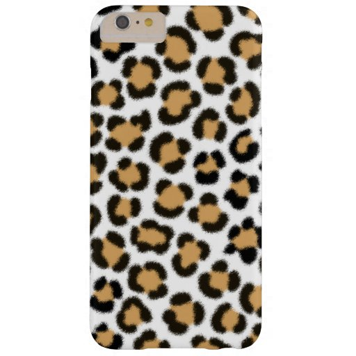 Trendy Leopard Simulated Fur Effect Pattern Barely There iPhone 6 Plus Case