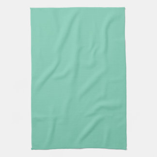 Trendy Light Green Solid Color Kitchen Towel