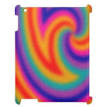 Trendy line pattern cover for the iPad 2 3 4