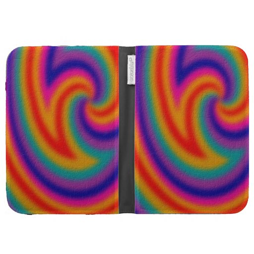 Trendy line pattern kindle cover