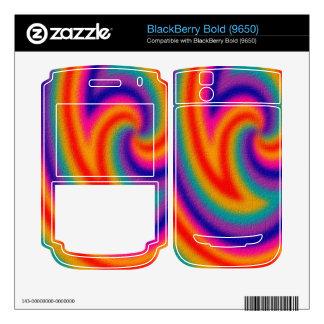 Trendy line pattern BlackBerry decals