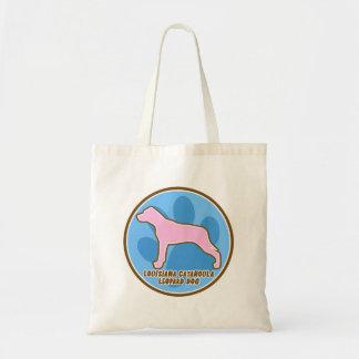 Trendy Louisiana Catahoula Leopard Dog Budget Tote Bag