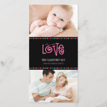 TRENDY LOVE PHOTOCARD :: LOVELETTERS 2P HOLIDAY CARD
