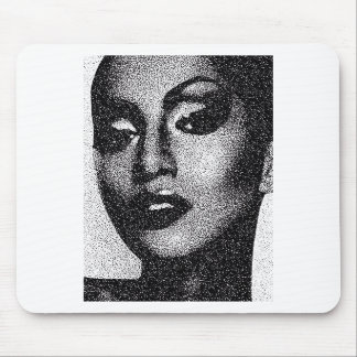 Trendy makeup mouse pad