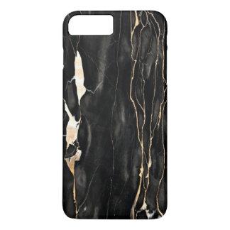 Trendy Marble Pattern Black Gold Gray iPhone 8 Plus/7 Plus Case
