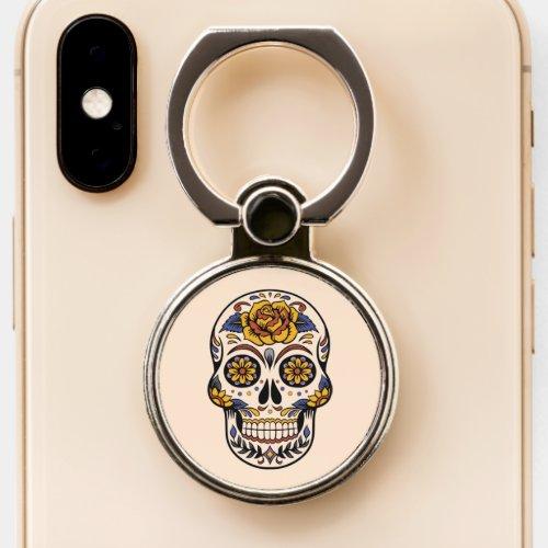 Trendy Mexican skull theme art girl gift Phone Case