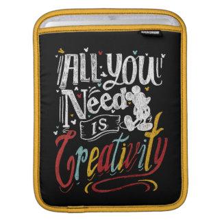 Trendy Mickey | All You Need Is Creativity iPad Sleeves
