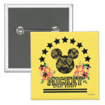 Trendy Mickey | Athletic Pinback Button