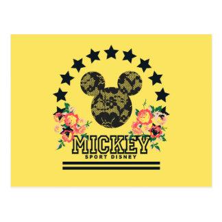 Trendy Mickey | Athletic Postcard