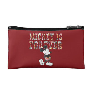 Trendy Mickey   Forever Makeup Bag at Zazzle
