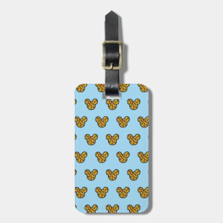 Trendy Mickey | Head-Shaped Pizza Luggage Tag