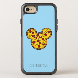 Trendy Mickey | Head-Shaped Pizza OtterBox Symmetry iPhone 7 Case