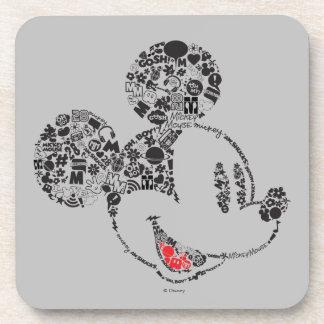 Trendy Mickey | Icons & Phrases Beverage Coaster