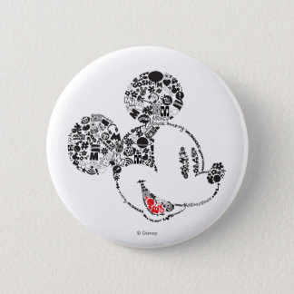 Trendy Mickey   Icons & Phrases Button