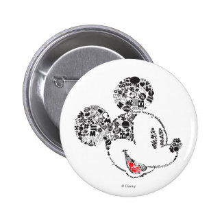 Trendy Mickey | Icons & Phrases Button