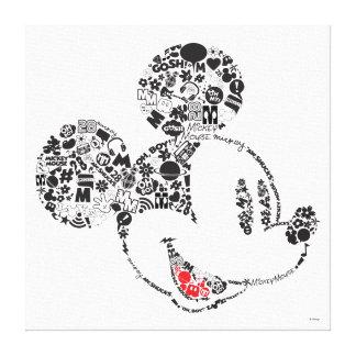 Trendy Mickey | Icons & Phrases Canvas Print
