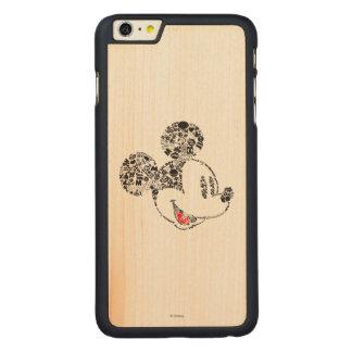 Trendy Mickey | Icons & Phrases Carved Maple iPhone 6 Plus Slim Case