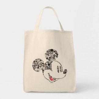 Trendy Mickey   Icons & Phrases Tote Bag