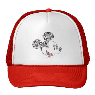 Trendy Mickey   Icons & Phrases Trucker Hat