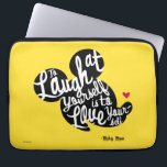 "Trendy Mickey | Laugh At Yourself Computer Sleeve<br><div class=""desc"">Disney Fast Fashion - Quote Me 