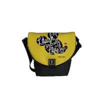 Trendy Mickey | Laugh At Yourself Courier Bag