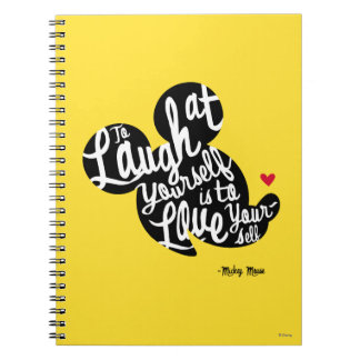 Trendy Mickey | Laugh At Yourself Notebook