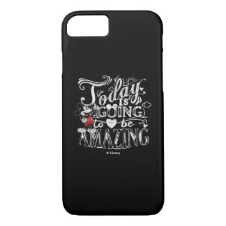 Trendy Mickey   Today Is Going To Be Amazing iPhone 8/7 Case