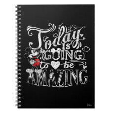 Trendy Mickey | Today Is Going To Be Amazing Notebook