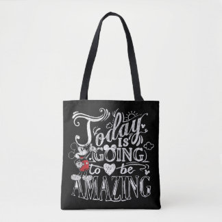 Trendy Mickey | Today Is Going To Be Amazing Tote Bag