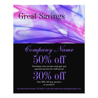 trendy minimalist elegant modern purple abstract flyer