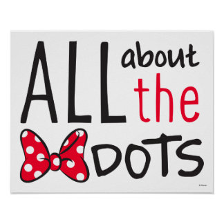 Trendy Minnie | All About The Dots Poster