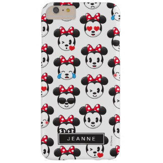 Trendy Minnie | Emoji Pattern Barely There iPhone 6 Plus Case