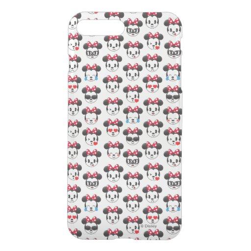 Trendy Minnie : Emoji Pattern iPhone 7 Plus Case : Zazzle