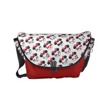 Trendy Minnie | Emoji Pattern Small Messenger Bag
