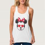 Trendy Minnie | In Love Emoji Tank Top