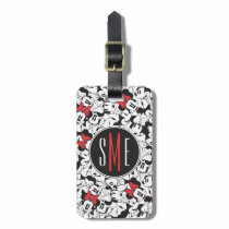 Trendy Minnie | Monogram Classic Pattern Luggage Tag