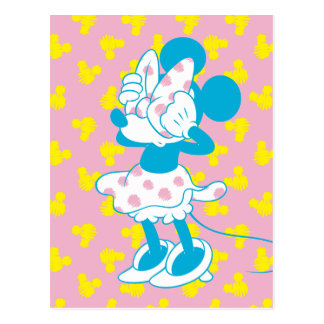 Trendy Minnie | Peek A Boo Postcard
