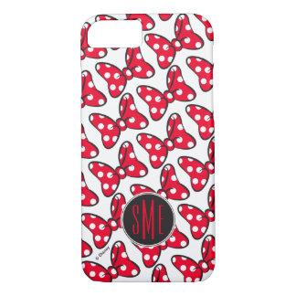Trendy Minnie   Polka Dot Bow Monogram iPhone 7 Case
