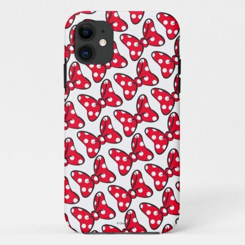 Trendy Minnie | Polka Dot Bow Pattern Phone Case