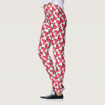 "Trendy Minnie | Polka Dot Bow Pattern Leggings<br><div class=""desc"">A pattern featuring Minnie&#39;s famous polka dot bow</div>"