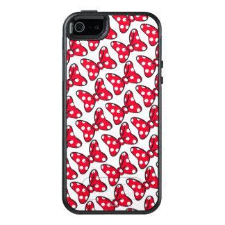Trendy Minnie | Polka Dot Bow Pattern OtterBox iPhone 5/5s/SE Case