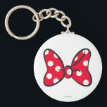 "Trendy Minnie | Red Polka Dot Bow Keychain<br><div class=""desc"">Disney Fast Fashion- The famous polka dot bow Minnie Mouse wears.</div>"