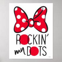 Trendy Minnie | Rockin' My Dots Poster