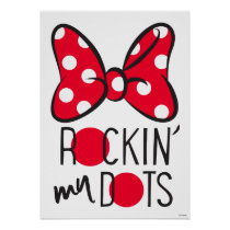 Trendy Minnie | Rockin' My Dots Poster
